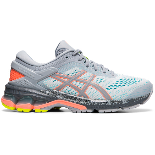 Asics Gel-Kayano 26 LS Women's Running Shoe, Grey