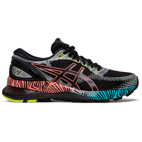 Asics Gel-Nimbus 21 LS Women's Running Shoe, Black