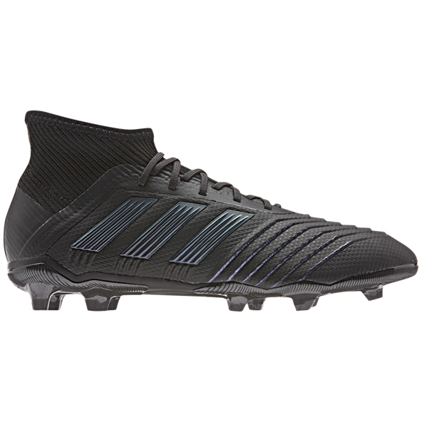 adidas Predator 19.1 Kids' FG Football Boot, Black