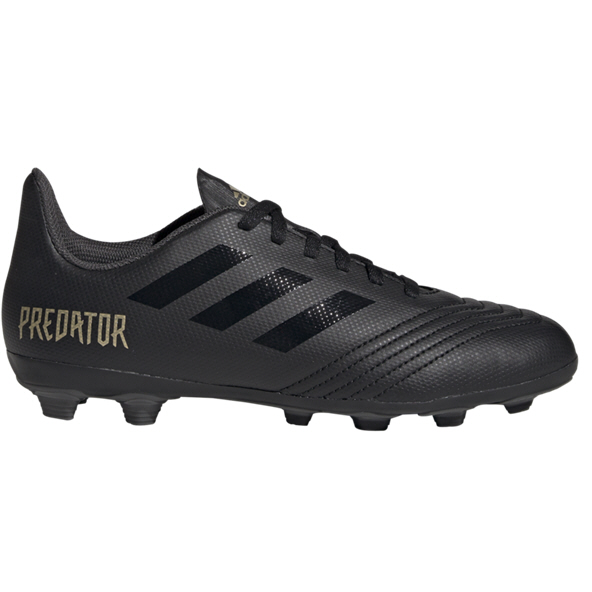 adidas Predator 19.4 Kids' FG Football Boot, Black