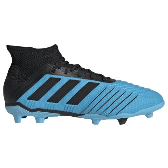 adidas Predator 19.1 Kids' FG Football Boot, Blue
