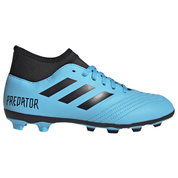 adidas Predator 19.4 FG Kids' Sock Boot Blue