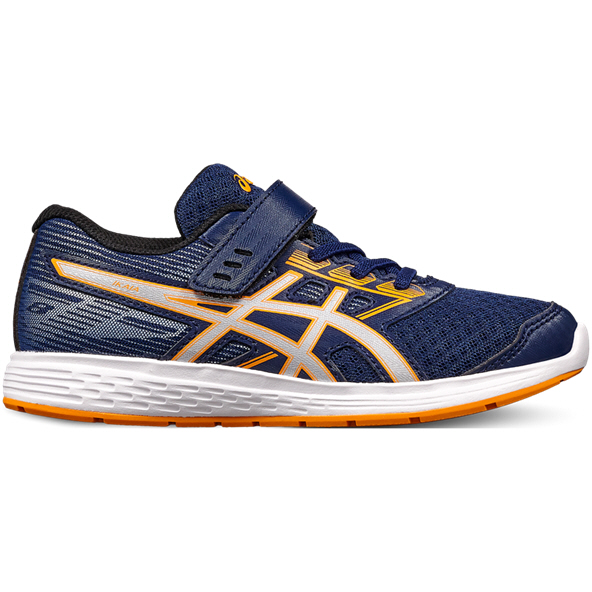 Asics Ikaia 8 Junior Boys' Trainer, Blue