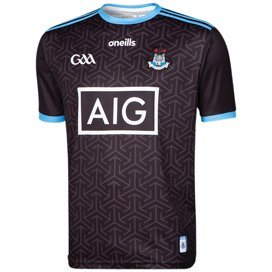 O'Neills Dublin 2019 Kids' Alternate Jersey, Black