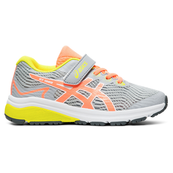 Asics GT-1000 8 Junior Girls' Trainer, Grey