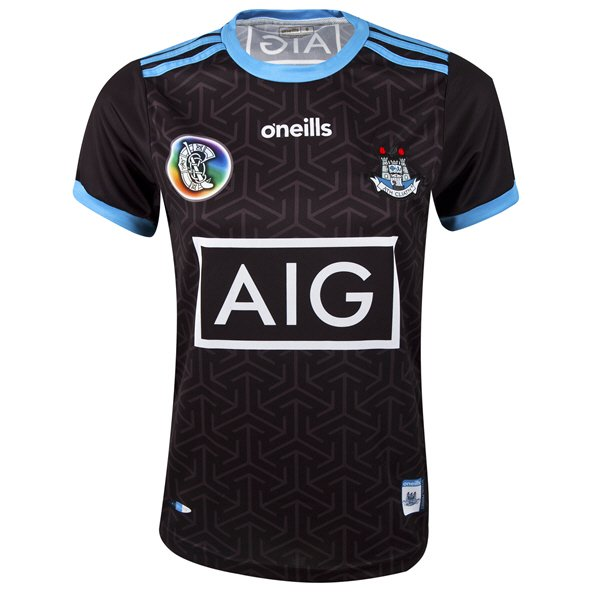O'Neills Dublin Alternate 2019 Girls' Camogie Jersey, Black