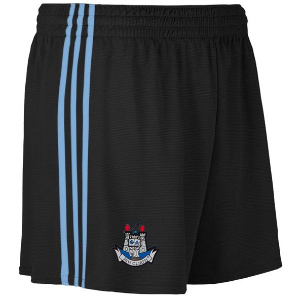 O'Neills Dublin 2019 Kids' Alternate County Short, Black
