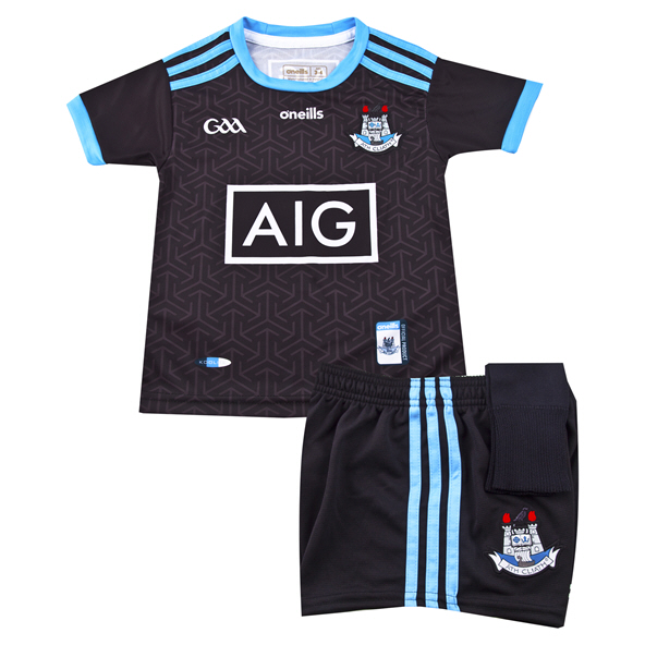 O'Neills Dublin 2019 Kids' Alternate Kit, Black