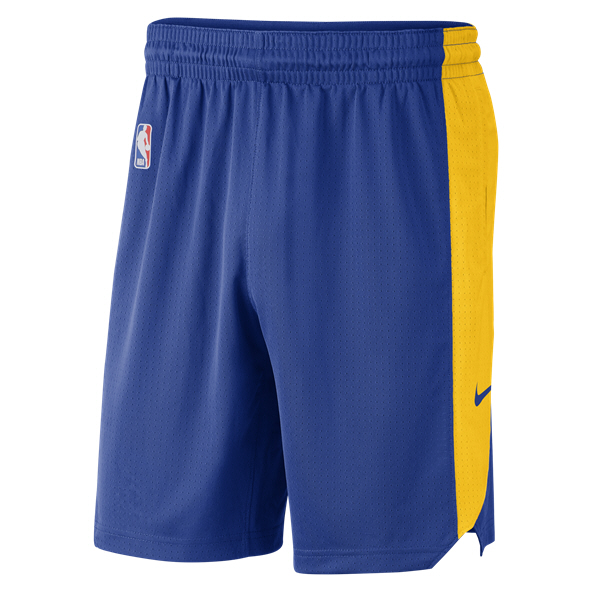 Nike Golden State Warriors Practice Short, Blue