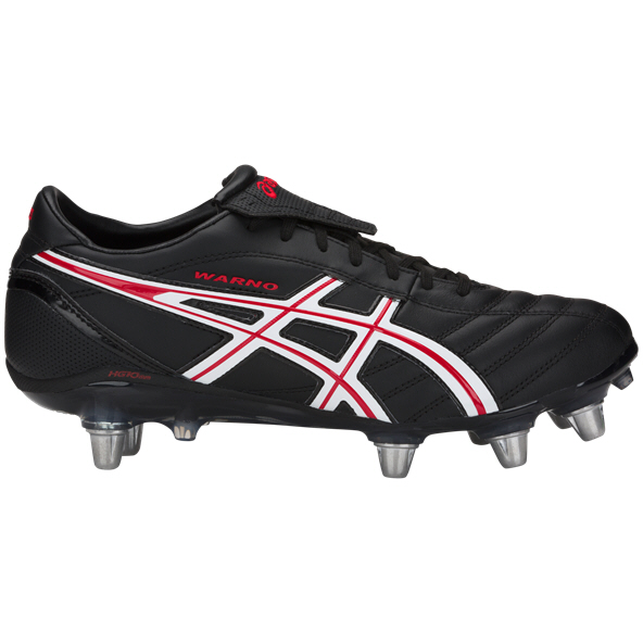 Asics Lethal Warno SG Rugby Boots, Black