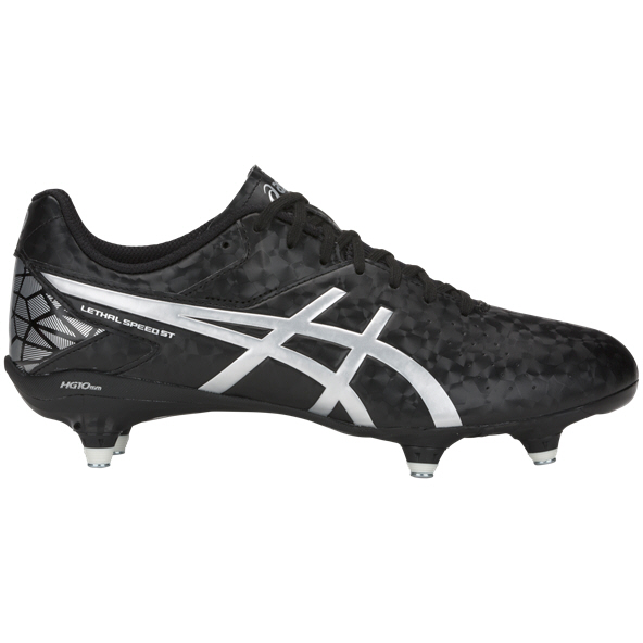 Asics Lethal Speed SG Rugby Boots, Black
