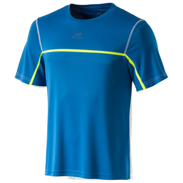 Pro Touch Rinito Short Sleeve Men's Tee Blue/Yellow