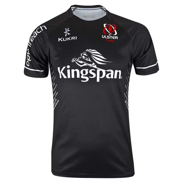 Kukri Ulster 19 Away Jersey Black