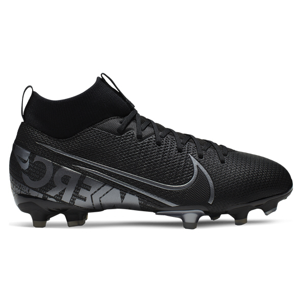Nike Mercurial Superfly 7 Academy Kids' Football Boot, Black