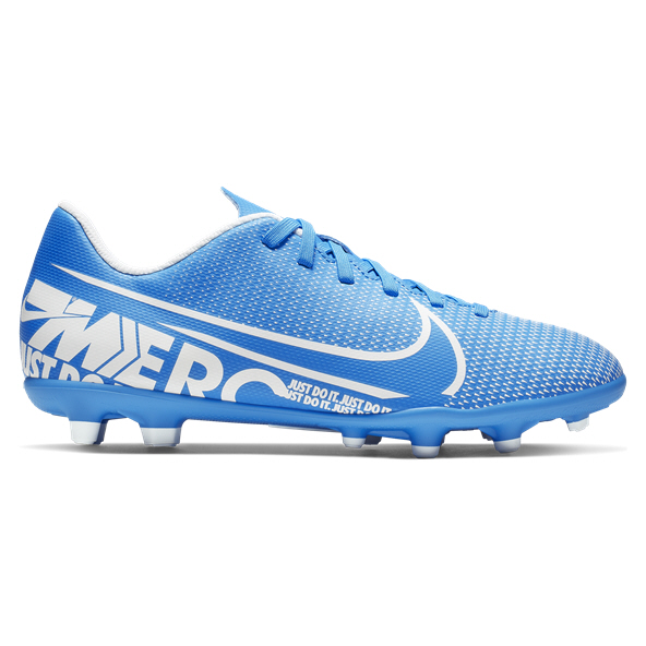 Nike Mercurial Vapor 13 Club Kids' Football Boot, Blue