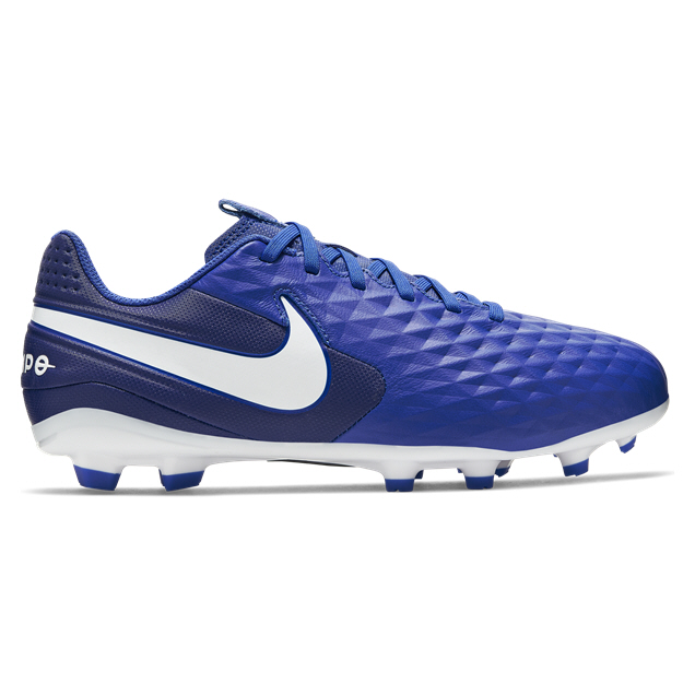 premium selection 54528 1a87f Nike Tiempo Legend 8 Academy Kids' MG Football Boot, Blue ...