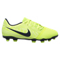 Nike Phantom Venom Club Kids' FG Football Boot, Volt