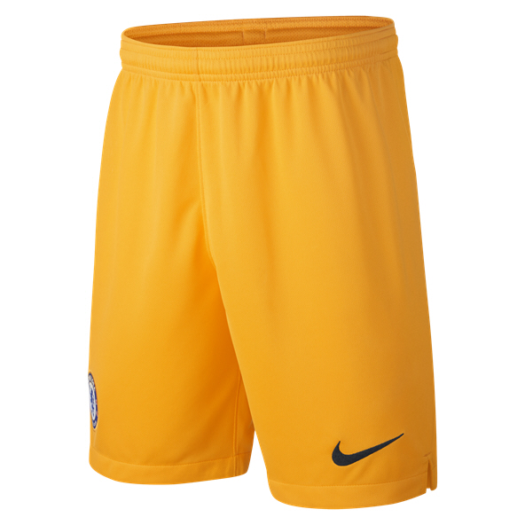 Nike Chelsea 19 Kids GK Shorts Yellow