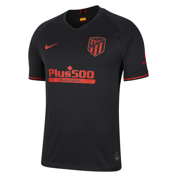 Nike Altetico Madrid 2019/20 Away Jersey, Black