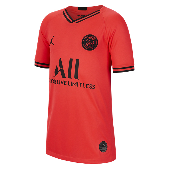 Nike PSG Away 19 Kids Jersey Red