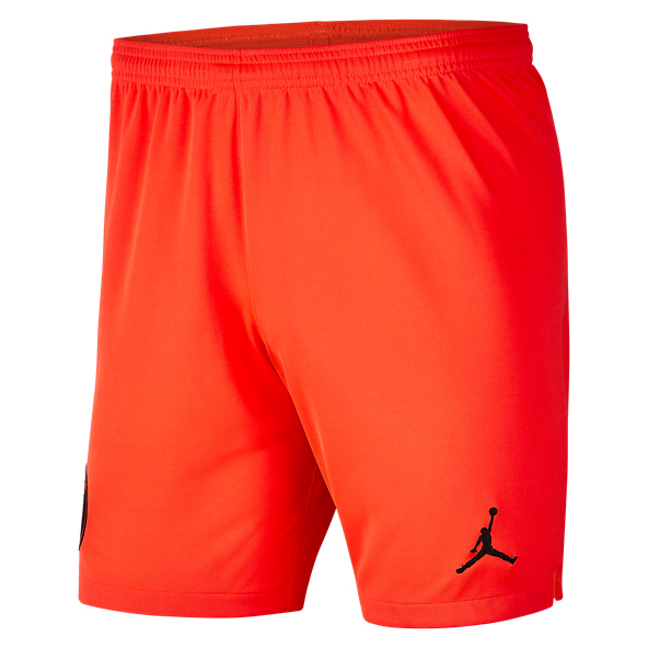 Nike PSG Away 19 Kids Shorts Red