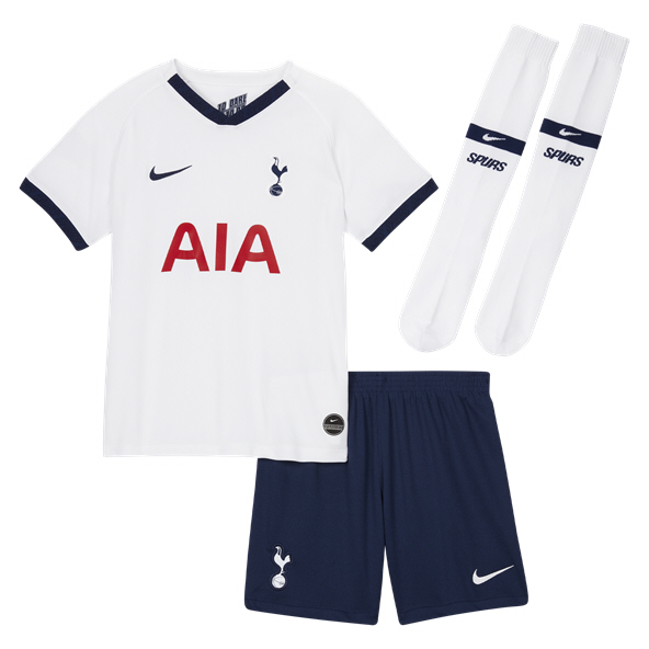 Nike Tottenham 2019/20 Home Mini Kit, White