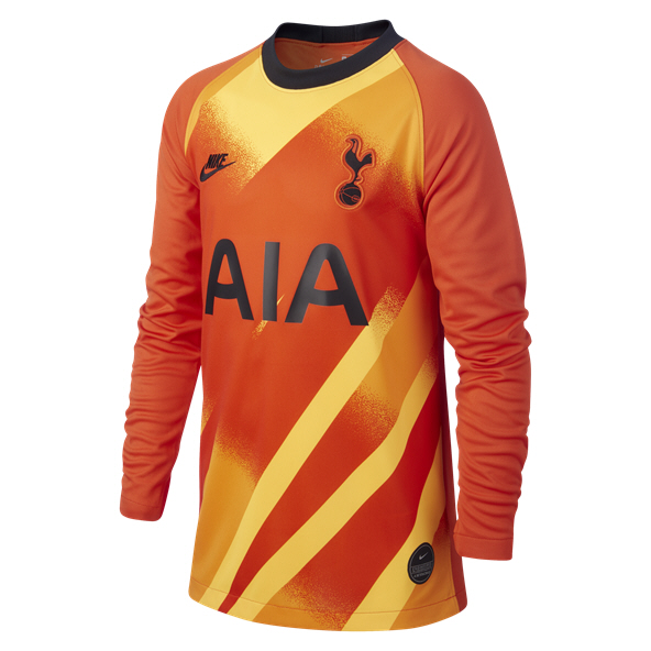 Nike Spurs GK 19 Kids Jersey Orange
