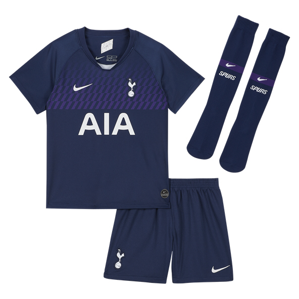 Nike Tottenham 2019/20 Away Mini Kit, Navy
