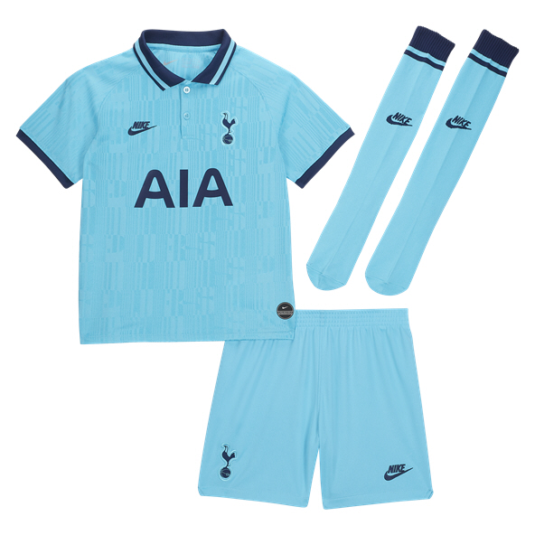 Nike Tottenham 2019/20 3rd Mini Kit, Blue