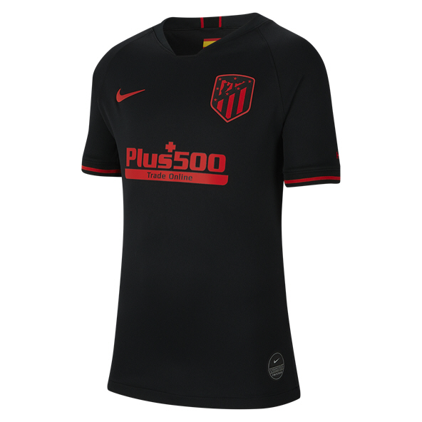 Nike Atletico Madrid 2019/20 Kids' Away Jersey Black
