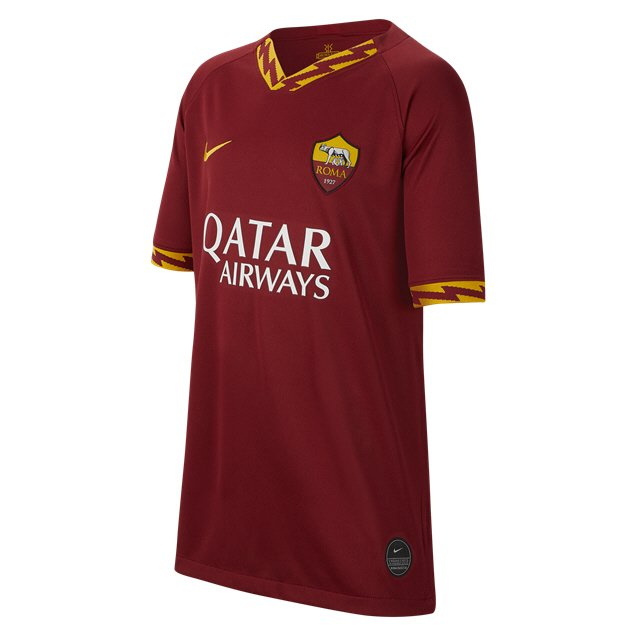 Nike AS Roma 2019/20 Kids' Home Jersey, Red