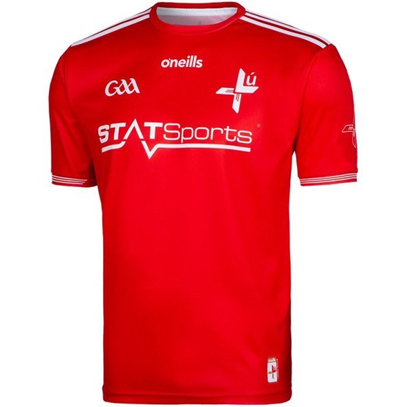 O'Neills Louth 2019 Home Player Fit Jersey, Red