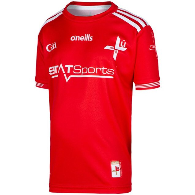 O'Neills Louth 2019 Kids' Home Jersey, Red