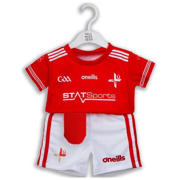 O'Neills Louth 2019 Kids' Home Kit, Red