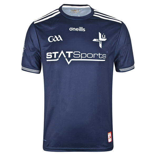 O'Neills Louth 2019 Kids' Home GK Jersey, Navy