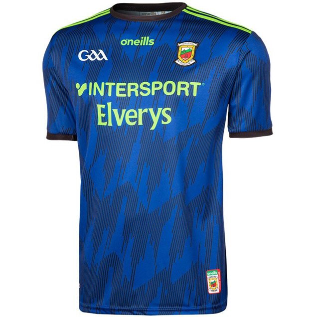 O'Neills Mayo 2019 Player Fit Alternate Jersey, Blue