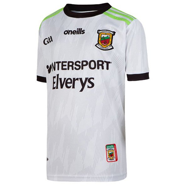 O'Neills Mayo 2019 Kids' Alternate GK Jersey, White