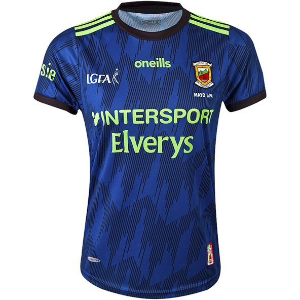 O'Neills Mayo 2019 LGFA Alternate Girls' Jersey, Blue
