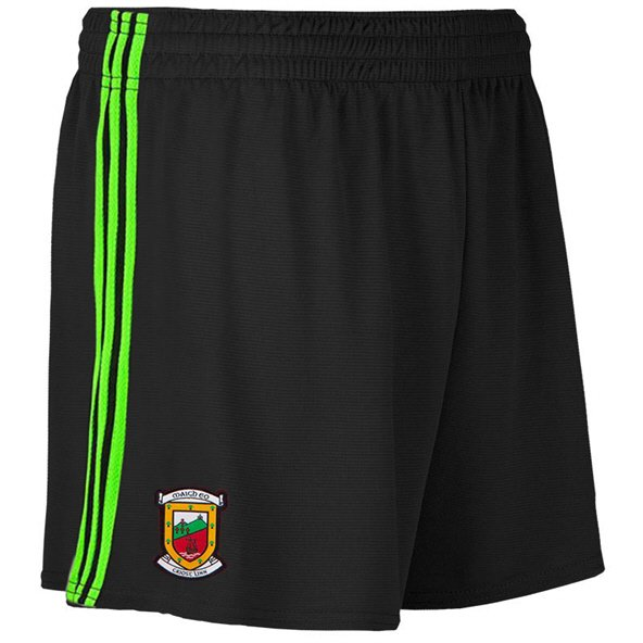 O'Neills Mayo 2019 Kids' Alternate County Short, Black