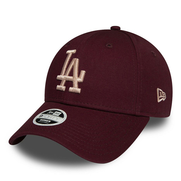 New Era LA Dodgers 9Forty Baseball Cap, Maroon