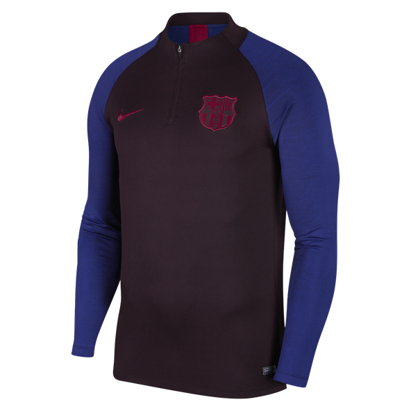 Nike FC Barcelona 2019/20 Strike Drill Top, Grey
