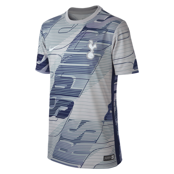 Nike Tottenham 2019/20 Kids' T-Shirt, Grey