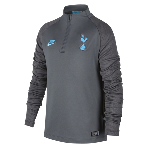 Nike Tottenham 2019/20 Kids' Squad Drill Top, Grey
