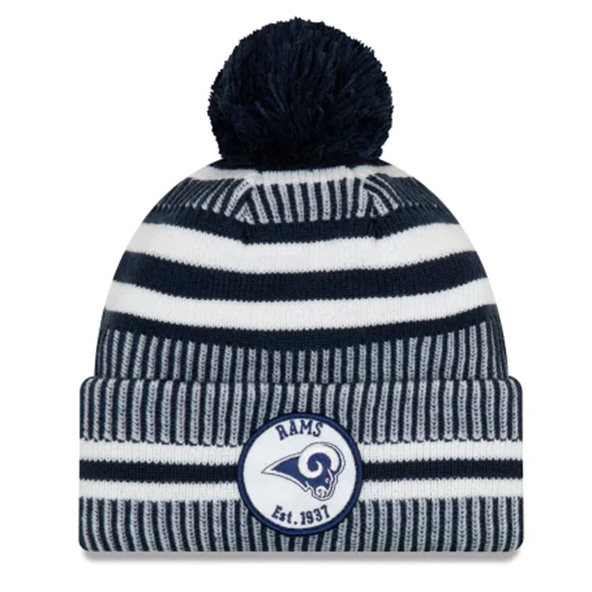 New Era Rams Onfield Hm Beanie Navy