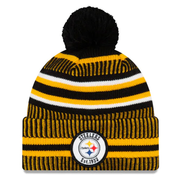 New Era Steelers Onfield Hm Beanie Black