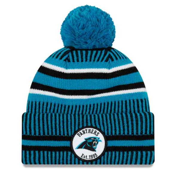 New Era Panthers Onfield Hm Beanie Blue
