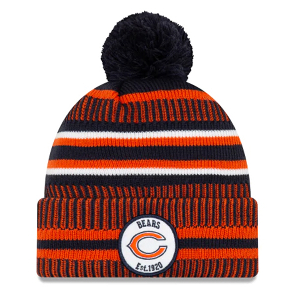 New Era Bears Onfield Hm Beanie Navy