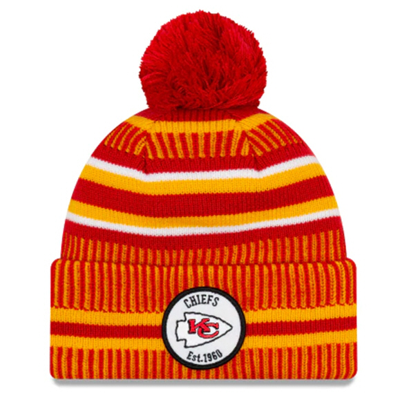 New Era Chiefs Onfield Hm Beanie Red
