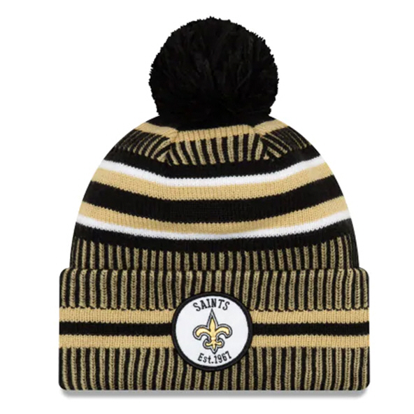 New Era Saints Onfield Hm Beanie Black