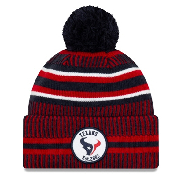 New Era Texans Onfield Hm Beanie Navy